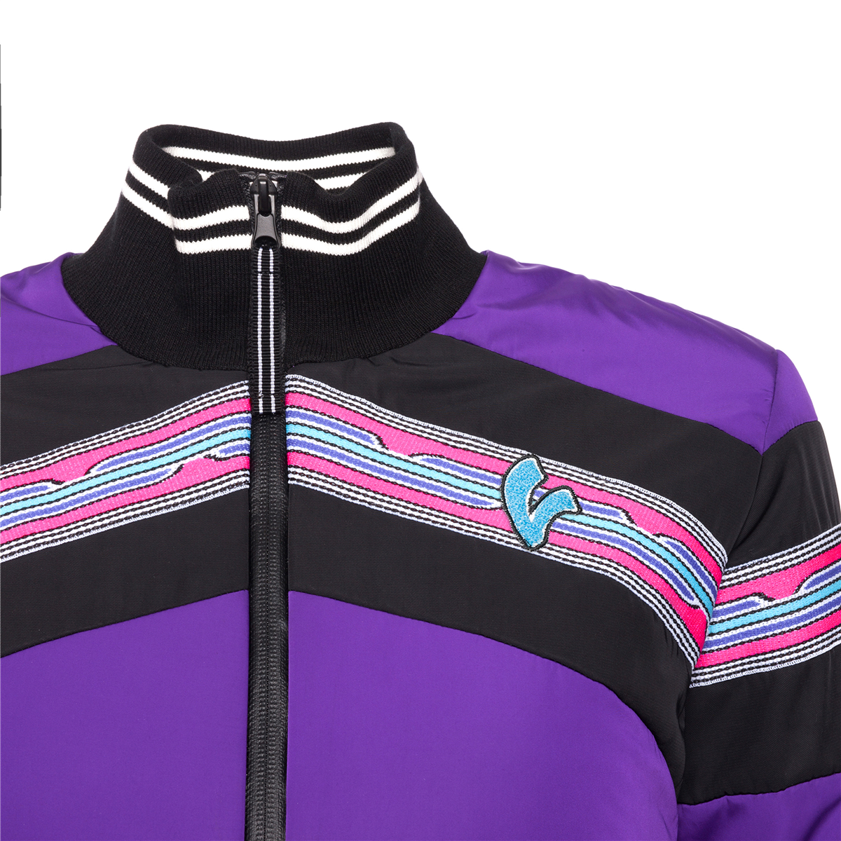 VESPA V-STRIPES (DAM) BOMBER JACKET
