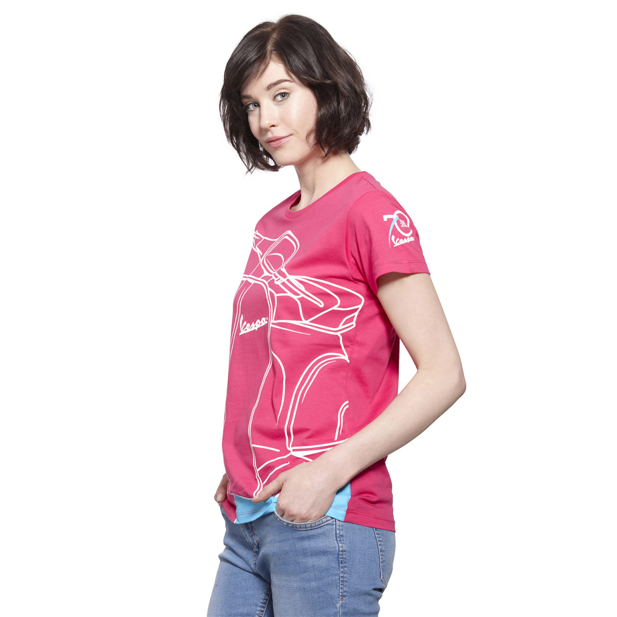 VESPA YOUNG WOMAN T-SHIRT