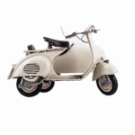 MODEL OF HISTORICAL VESPA SIDECAR – SCALE 1:6