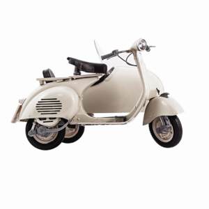 MODEL OF HISTORICAL VESPA SIDECAR - SCALE 1:6