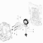 Cdi magneto assy for model VESPA GT 200