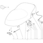 granturismo saddle with belt for model VESPA S 50